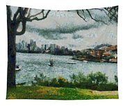 Water And Scenery Tapestry