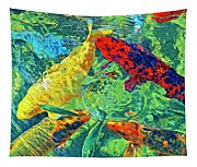 Water Ballet Tapestry