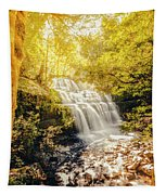 Water In Fall Tapestry