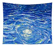 Water In The Pool Tapestry