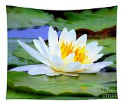 Water Lily - Digital Painting Tapestry