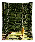Water Lily Budd Tapestry