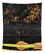 Water Reflections In Autumn Tapestry