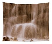 Water Softly Falling Tapestry