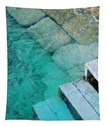 Water Steps Tapestry