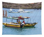 Water Taxis Waiting Tapestry