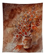 Watercolor Autumn Bunch Tapestry