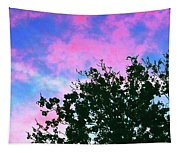 Watercolor Sky Tapestry
