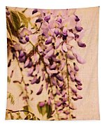 Watercolor Wisteria Tapestry
