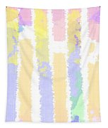 Watercolour Abstract Strips 2 Tapestry