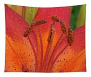Watered Lily Tapestry