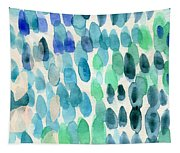 Waterfall 2- Abstract Art By Linda Woods Tapestry