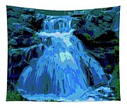 Waterfall At Finch 2 Tapestry