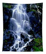 Waterfall Flowing And Ebbing Tapestry