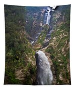 Waterfall Highlands Of Guatemala 1 Tapestry
