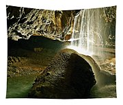 Waterfall Of The Caverns Tapestry