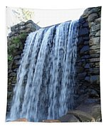 Waterfall Of The Grist Mill Tapestry