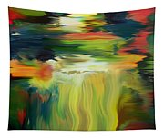 Waterfall On The Krka River Tapestry
