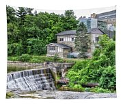Waterfalls Cornell University Ithaca New York 04 Tapestry