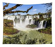 Waterfalls In Frame Tapestry