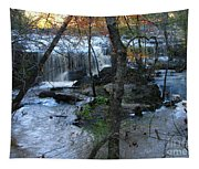 Waterfalls In Morning Tapestry