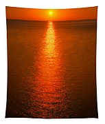 Waterfront Sunrise Tapestry