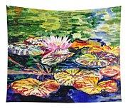 Waterlilies Impressionism Tapestry