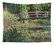 Waterlily Pond Pink Harmony 1900 Tapestry