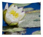 Waterlily Reflections Tapestry