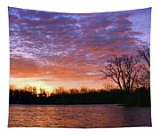 Waterville Sunrise Panorama 0002 0003 Signed Tapestry