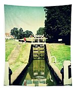 10945 Watford Locks On The Grand Union Canal Tapestry