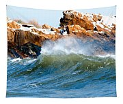 Wave Mirrors Rock Tapestry