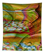 Waves And Patterns Tapestry