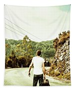Way Of Old Travel Tapestry