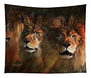 Way Of The Lion Tapestry