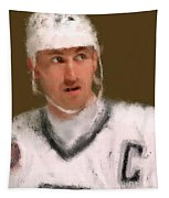 Wayne Gretzky Kings Portrait Tapestry