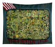 We Don't See The Whole Picture Tapestry
