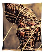 Weapon Of Mass Construction Tapestry