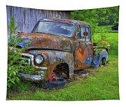 Wears Valley 1954 Gmc Wears Valley Tennessee Art Tapestry