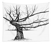 Weathered Old Tree Tapestry