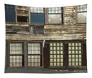 Weathered Windows Tapestry