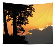 Webster Ny Sunset Tapestry