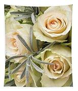Wedding Flowers Tapestry