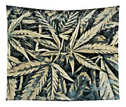 Weed Abstracts Four Tapestry