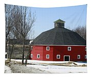 Welch Round Barn Tapestry