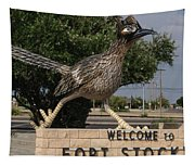 Welcome To Fort Stockton Tapestry