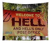 Welcome To Hell Tapestry