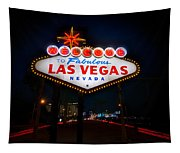 Welcome To Las Vegas Tapestry