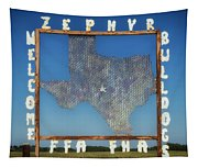 Welcome To Zephyr Texas Tapestry