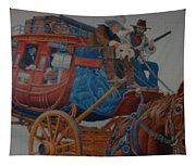Wells Fargo Stagecoach Tapestry